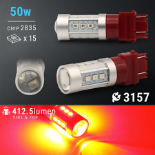 3157 HIGH POWER LED RED Brake Light Bulb