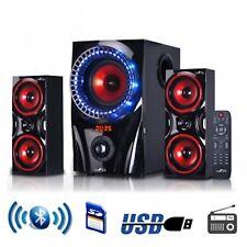 BeFREE 2.1 Channel Bluetooth Surround Sound Shelf Speaker System FM/USB/SD NEW