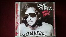 DAVID GUETTA CD ALBUM ONE LOVE
