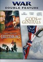 Gettysburg / Gods and Generals [New DVD]