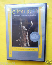 dvds,elton john,live at madison square garden,one night only,the greatest hits,f