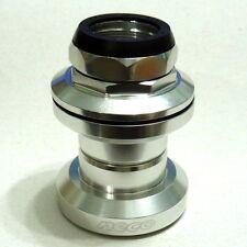 "Neco H671 1"" (22.2mm) Alloy Cartridge Ball Bearing Threaded Headset, Silver, Z21"