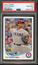 2013 Topps Rookie Cup Yu Darvish Red Hat #11 PSA 10