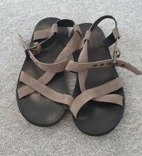 All Saints Mens Rile Sandal, Taupe, size 7, Worn