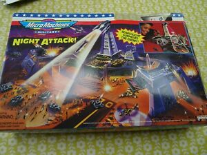 Micro Machines Military Battle zones Night Attack! Vintage Toy.