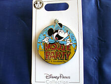 Disney * Mickey * Mouse Party * New on Card Character Trading Pin
