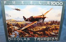 WINGS OF WAR - TIGER FIRE - NICOLAS TRUDGIAN Puzzle jigsaw 1000 pcs NEW
