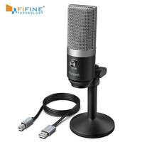 Microphone For Laptop And Computers For Recording Streaming Twitch Voice
