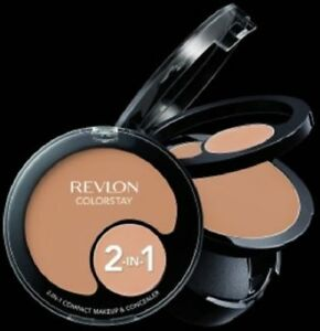 Revlon ColorStay 2-In-1 Compact Makeup & Concealer ~ Choose Your Shade