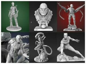 240+ 3D pack Print File STL Printer 3d Marvel Batman Iron Man Mask CNC
