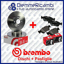 KIT DISCHI + PASTIGLIE FRENO POSTERIORI BREMBO ALFA ROMEO MITO  08->