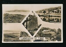 Scotland Kirkcudbrightshire GATEHOUSE OF FLEET M/view RP PPC unused 1932