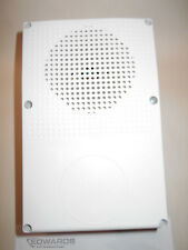 New Edwards WG4WF-H Genesis Outdoor Fire Alarm Horn, 24VDC, White