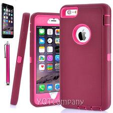 Hard Back ShockProof Slim Hybrid Phone Case Cover iPhone SE 5s 6 Plus Protector