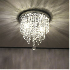 Modern Chandelier Crystal Glass LED Ceiling Light Fixture Lighting Hanging Lamp