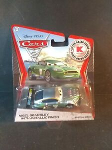 Mattel Disney Pixar Cars 2 NIGEL GEARSLEY Metallic Car Silver Racer Series Kmart