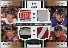 11-12 SP Game Used Authentic Fabrics Eights Patches #AF8GR8ONE Wayne Gretzky 1/1