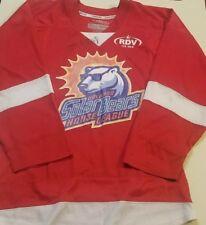 Orlando Solar Bears NHL RED Ice Hockey Jersey CCM Mens SMALL S KAMAZU RDV AUTO
