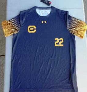 Under Armour Mens Soccer California Golden Bears #22 Jersey Sz.L NEW 1310069-411