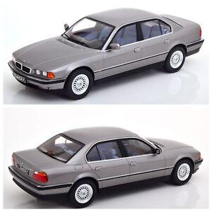 1/18 KK Scale BMW 740i E38 1ST Series 1994 Grey Metallic Neuf Livraison Domicile