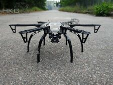 F550 HJ550 Hexacopter Multicopter Frame Kit with black landing skid gear for FPV
