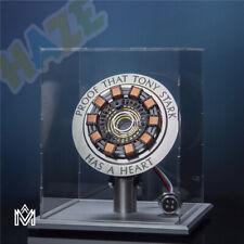Iron Man Tony Stark MK1 Arc Reactor Display Box Collector's Edition Metal Base
