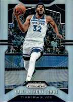 2019-20 Panini Prizm Prizms Silver #161 KARL-ANTHONY TOWNS  Timberwolves