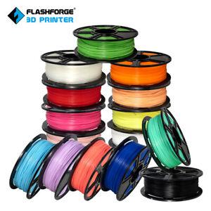 Flashforge 3D Printer Filament PLA 1.75mm 0.5kg/1kg Spool Accuracy +/- 0.02mm