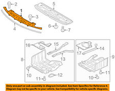KIA OEM Optima Radiator Core Support-Sight Shield Splash Cover Panel 863562T001