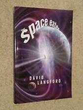 David Langford SIGNED The Space Eater (paperback)