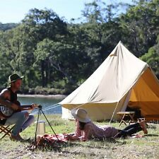 The Odyssey 5m Canvas Bell Tent