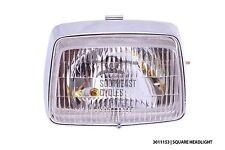 Square headlight assembly for Honda cub C50 C70 C90 12v