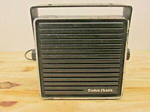 Radio Shack 21-549A Communications Extension Speaker CB'S & Scanners Black