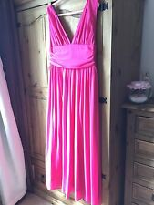 Pink Prom Dress, Ball Gown Size 14/16