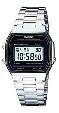 Casio A-164W Orologio Vintage, Crono,Illuminator, batteria 7 anni