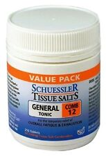 Schuessler Tissue Salts Comb 12 General Tonic 250 Tablets