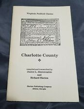 Virginia Publick Claims Charlotte County