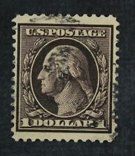 CKStamps: US Stamps Collection Scott#342 $1 Washington Used CV$100
