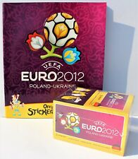 Panini euro 2012 alemanes Edition-display con 100 bolsas + álbum en blanco
