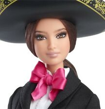 Barbie Mexico Mariachi 2014 Dolls of the World New NRFB Hard to Find 6+