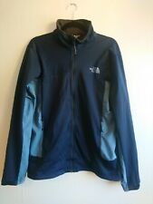 Azul Hombre The North Face Windstopper Shell Chaqueta de pista de Tamaño Medio Luz Forrado