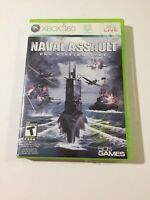 Naval Assault: The Killing Tide (Microsoft Xbox 360, 2010) No Manual Tested