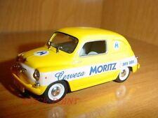 SEAT 600D 600 D FIAT MORITZ BEER COMMERCIAL 1965 1:43 CERVEZA