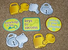 Teacher Resource: 11 Keys to Success / Learning Bulletin Board Accents