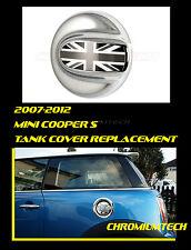 Mini Cooper S/SD Clubman CHROME Fuel Filler Cap Tank w/BLK Union Jack R55 R56
