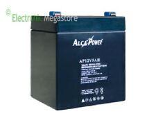 Batteria Ermetica ricaricabile al Piombo 12V 5Ah con connettore Faston