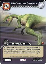 Carte Card Game DINOSAUR KING DKDS - 42 /100 LILIENSTERNUS CAVALEUR 1000 VF