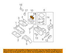 NISSAN OEM 05-18 Frontier Center Console-Front Cupholder Insert 96975EA000