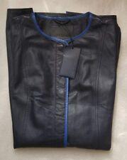 Trussardi Jeans Femme Veste en cuir taille 40 (8UK) - Peau de mouton RRP £ 500