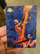 Michael Jordan ERROR Card - 1995-96 SkyBox #15, Error: 6972 Career Blocks!